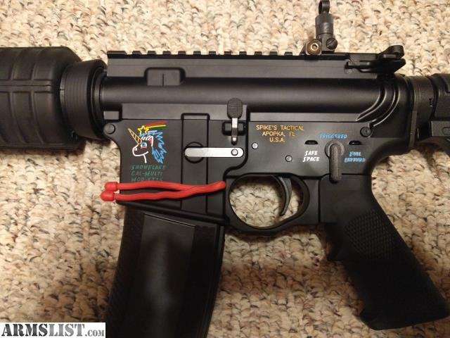 ARMSLIST - For Sale/Trade: AR-15 Delton dissipator Spike's lower