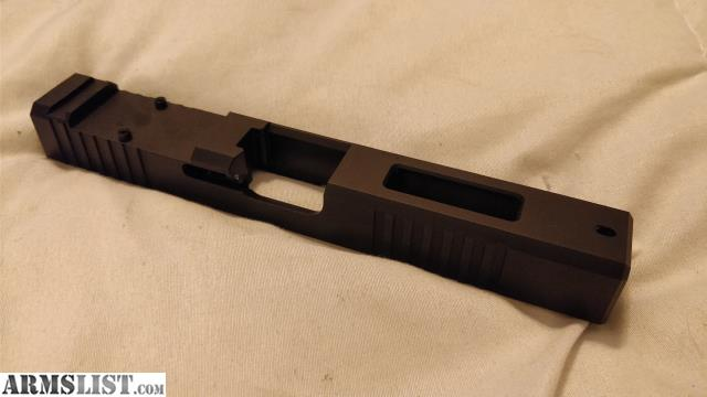 ARMSLIST - For Sale/Trade: Brownells Glock 17 RMR cut slide