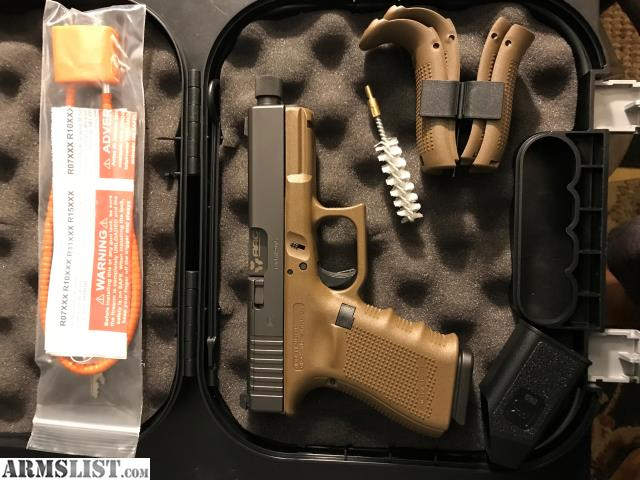 ARMSLIST - For Sale: Glock 19 MOS FDE