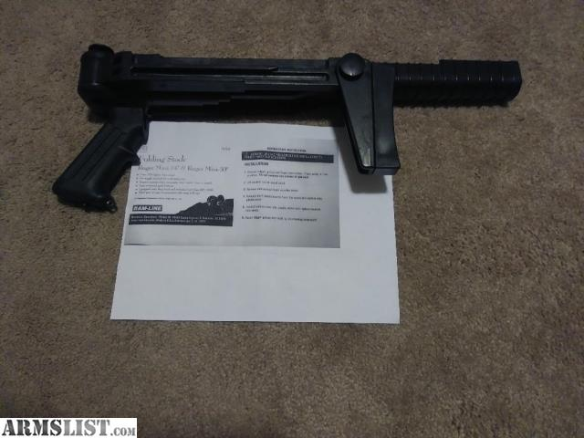 ARMSLIST - For Sale/Trade: Ram-Line Ruger Mini-14 Folding Stock