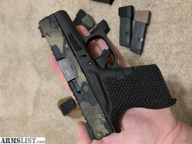ARMSLIST - For Sale: Glock 43 Modified $800