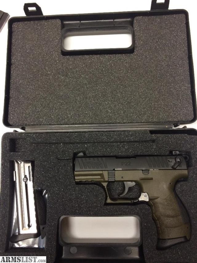 ARMSLIST - For Sale: Walther P22QD