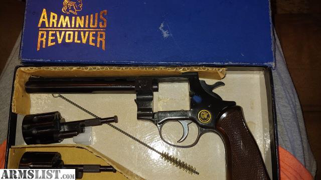 ARMSLIST - For Sale: Arminius 22 magnum