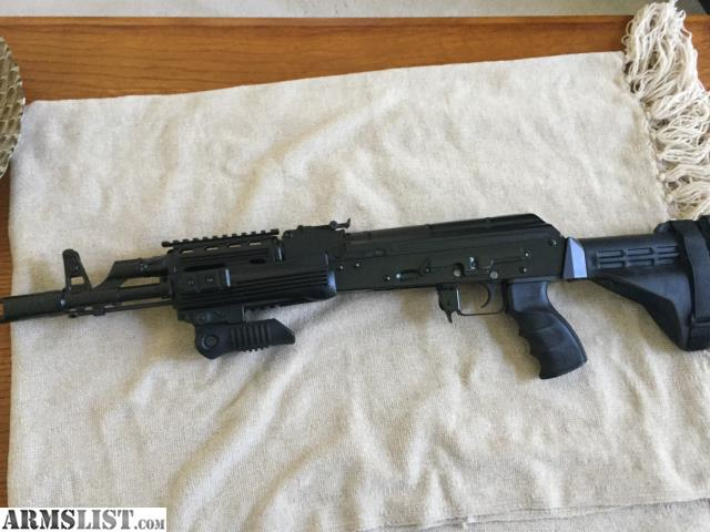 ARMSLIST - For Sale: AK-47 Pistol Made by Red Jacket Arms