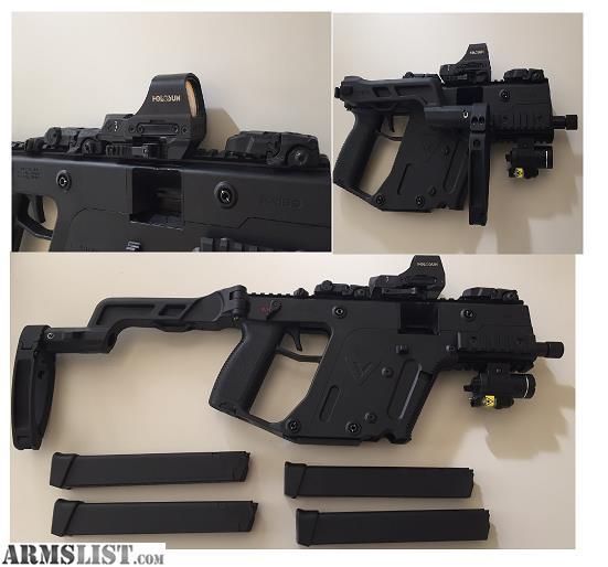 ARMSLIST - For Sale: Kriss Vector Pistol w/Folding Brace and
