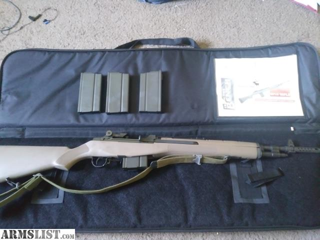ARMSLIST - For Sale: Springfield M1A scout squad FDE