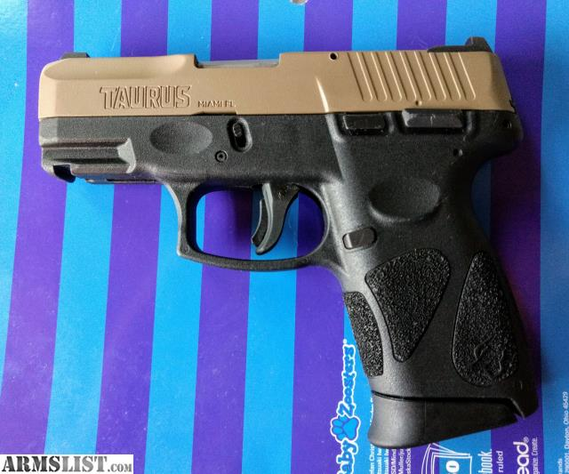 ARMSLIST - For Sale/Trade: Taurus g2c