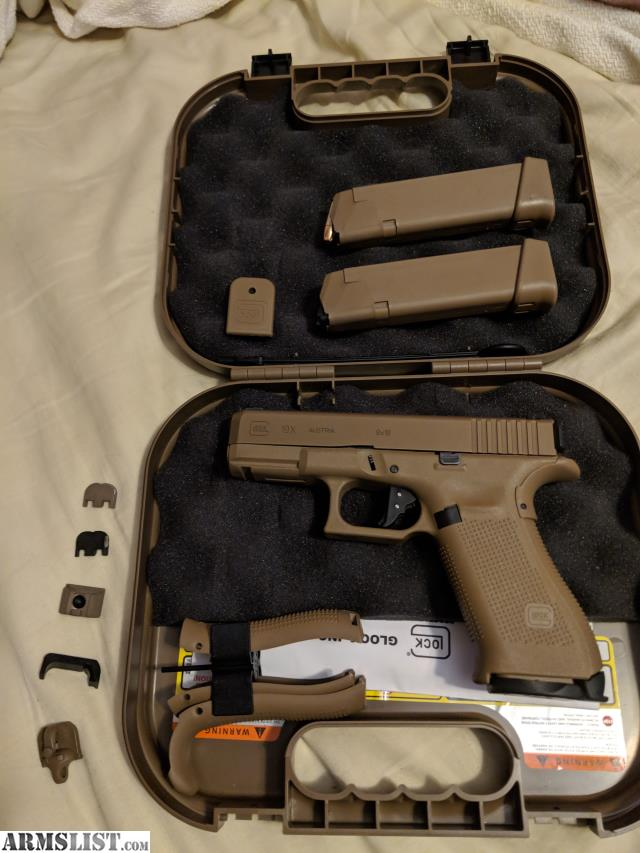 ARMSLIST - For Trade: Glock 19x for p320rx
