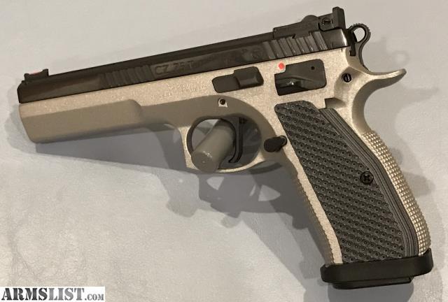 ARMSLIST - For Sale: CZ 75 Tactical Sport