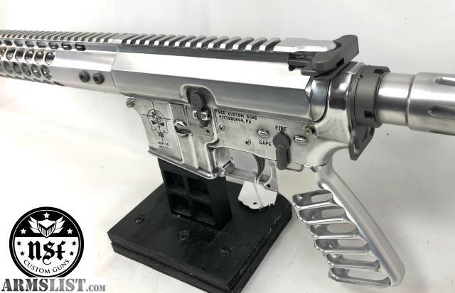 ARMSLIST - For Sale: NSF Custom Guns SS-15 Polished Aluminum