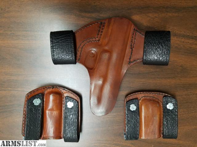 ARMSLIST - For Sale: Little Bear Custom Holsters set for Ruger SR9c