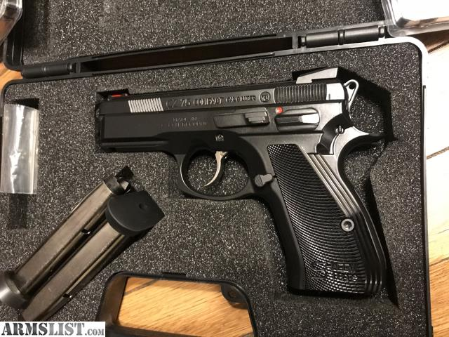 ARMSLIST - For Sale: CZ 75 Compact Shadow Line 91167