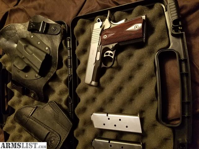 ARMSLIST - For Sale/Trade: Kimber ultra cdp custom shop holsters and