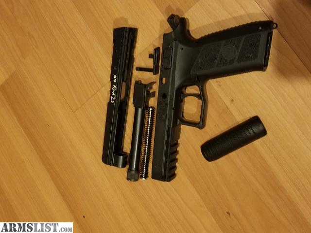 ARMSLIST - For Trade: WTT P09 Tactical (black) for CZ P10c