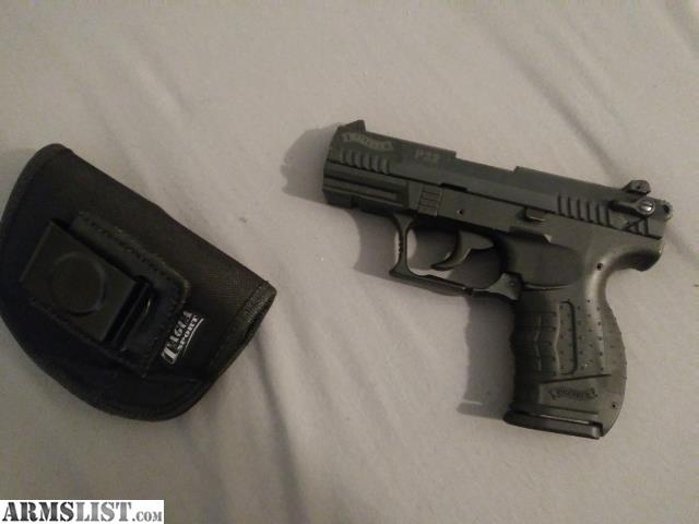 ARMSLIST - For Sale: Walther p22 w/ holster and ammo