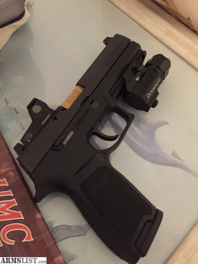 ARMSLIST - For Sale/Trade: sig p320 Rx with romeo1 red dot