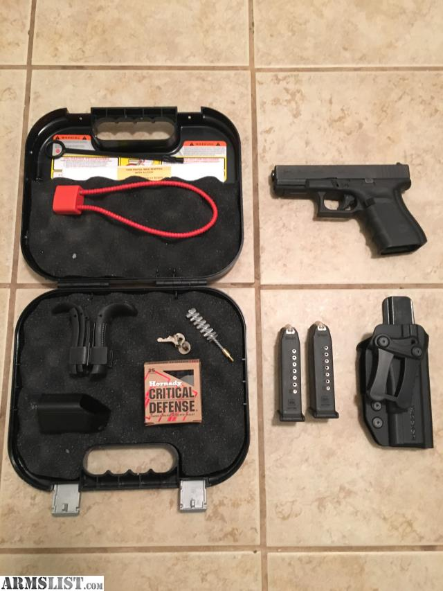 armslist for sale glock 19 gen 4 with holster