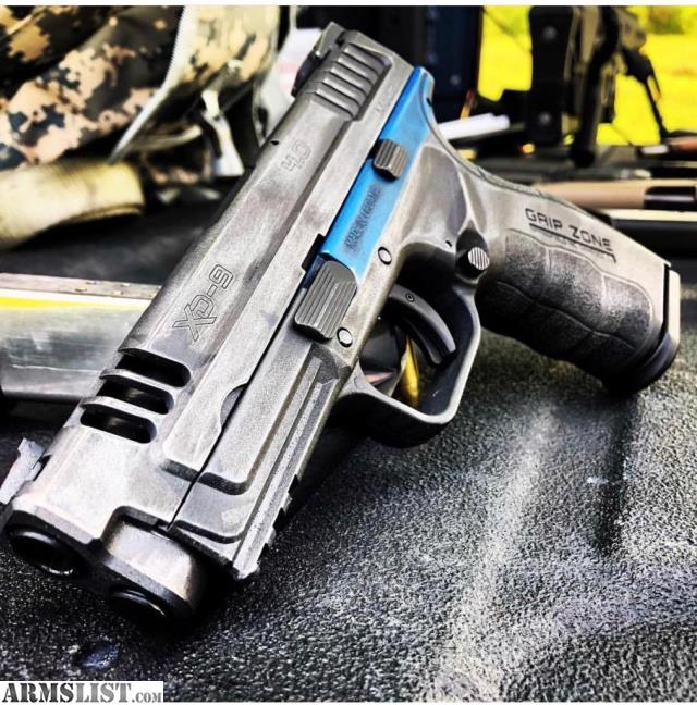 For Sale: Springfield Xd Mod2 9mm Custom