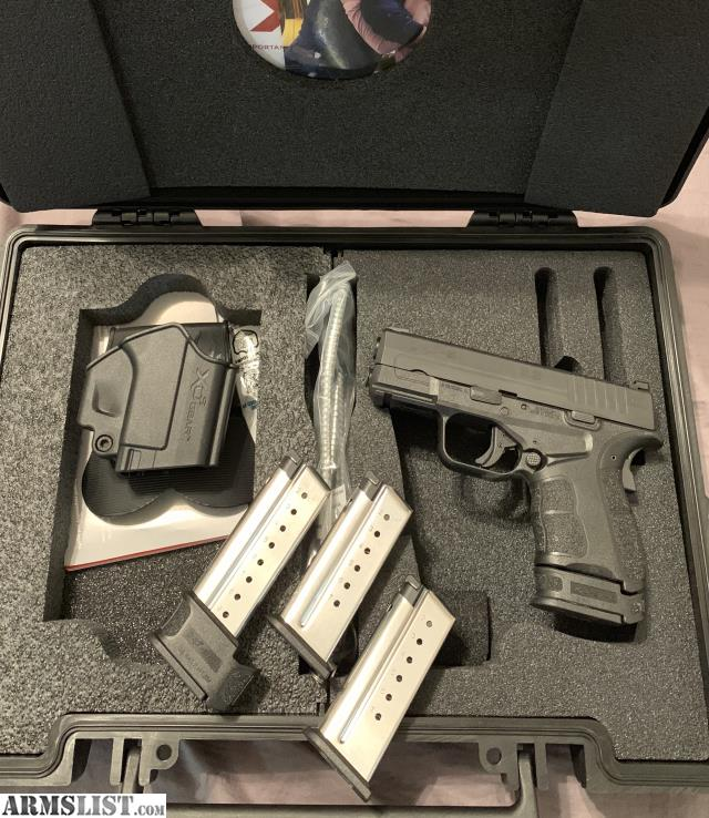 For Sale: Springfield Xds Mod 2 9mm With Night