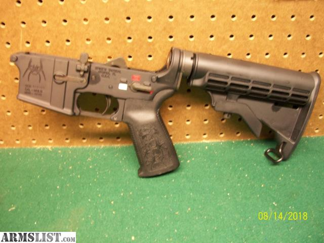 ARMSLIST - For Sale: Spikes Tactical AR 15 Lower Colored M4 Complete