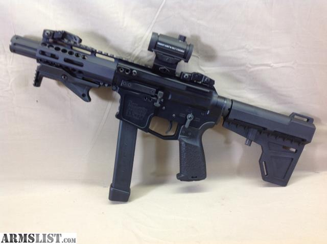 ARMSLIST - For Sale: New Frontier Armory AR-9 Pistol (Glock Magazines)