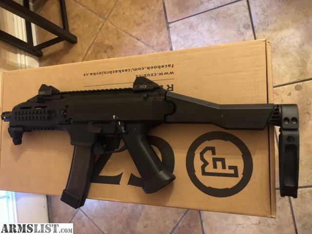 ARMSLIST - For Sale/Trade: Cz scorpion/ tailhook brace kit