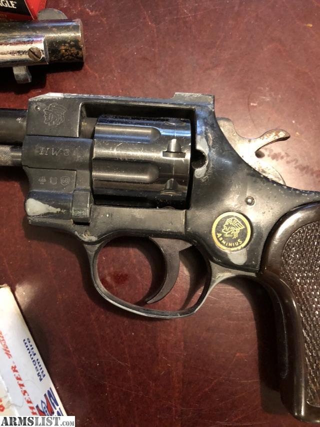 ARMSLIST - For Sale: Old 22 family pistols EIB and Arminius