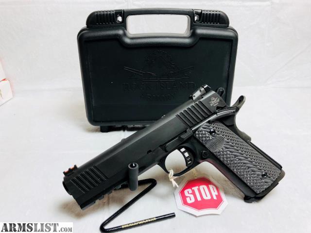 ARMSLIST - For Sale: New Rock Island 1911 10mm Tac Ultra FS