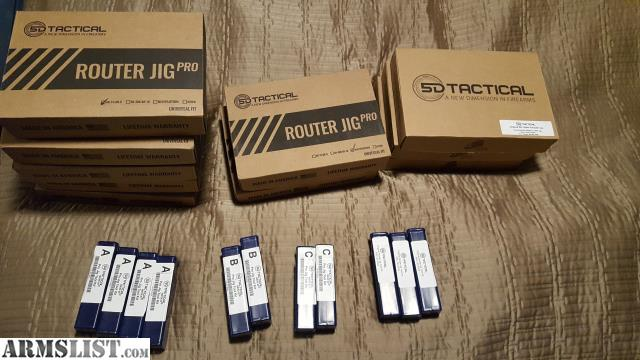 ARMSLIST - For Sale: 5D Tactical AR-15/AR-9 Router Jig PRO