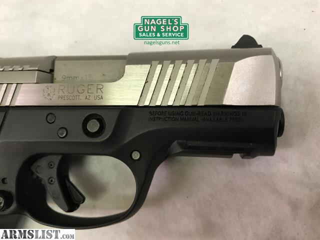 ARMSLIST - For Sale: Ruger SR9C, 9mm, Stainless Slide, (1