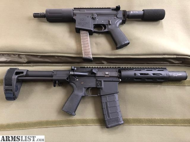 Armslist For Sale Lone Wolf G9 Ar9 Pistol And Rock River Lar15