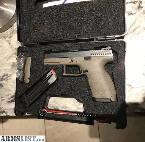 ARMSLIST - For Trade: CZ p10c upgraded Trigger and 200 cash, Only