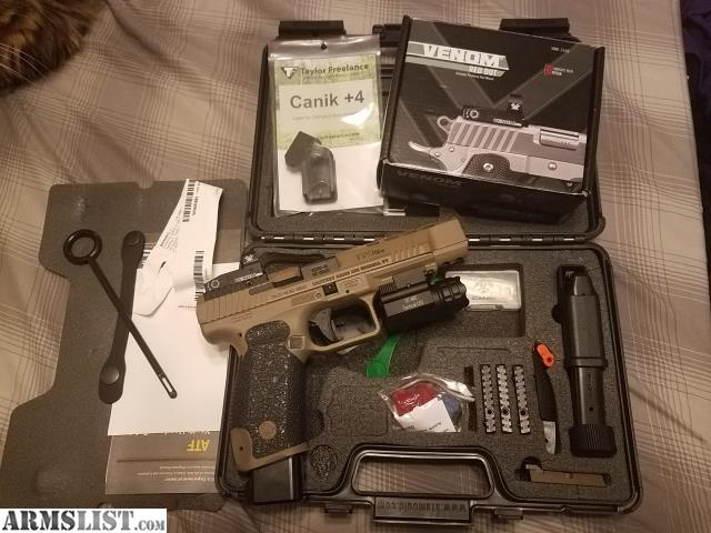 ARMSLIST - For Sale/Trade: Canik TP9SFX 9mm plus extras