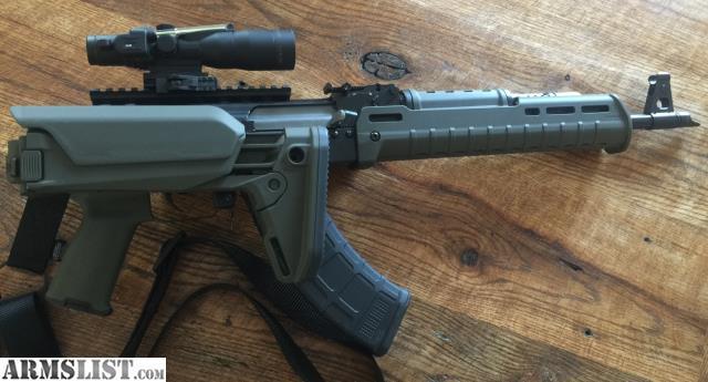 ARMSLIST - For Sale: Upgraded RAS47 AK-47 & Trijicon ACOG