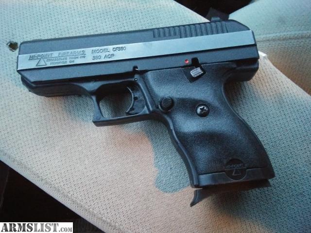 ARMSLIST - For Sale: Like Brand New HI-Point  380 ACP Not Even