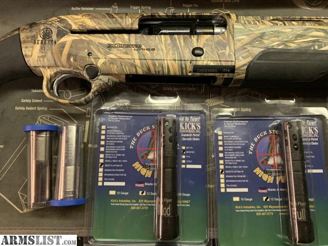 "ARMSLIST - For Sale: Beretta A400 Xtreme Unico 30"" Kicks Choke Tube"
