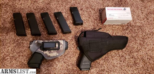 ARMSLIST - For Sale:  45acp Glock 30S and 41 Gen 4, excellent