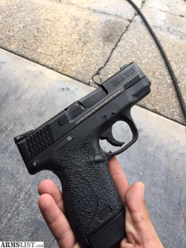 ARMSLIST - For Sale: New M&P shield 45 LAST DAY