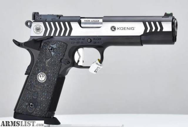 Armslist For Sale Ruger Sr1911 Doug Koenig Competition