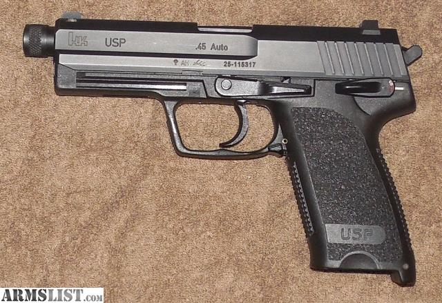 ARMSLIST - For Sale: HK USP 45 Full Size with Threaded Barrel