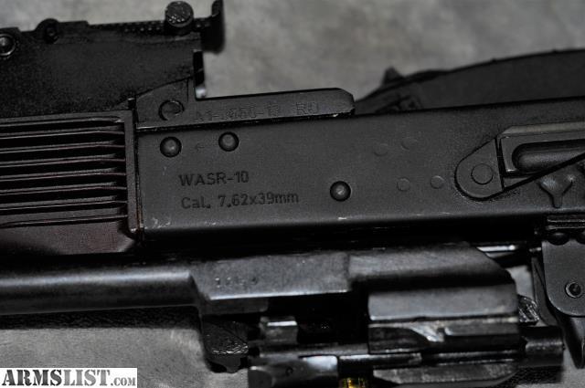 ARMSLIST - For Sale: Romarm Cugir WASR-10 AK-47