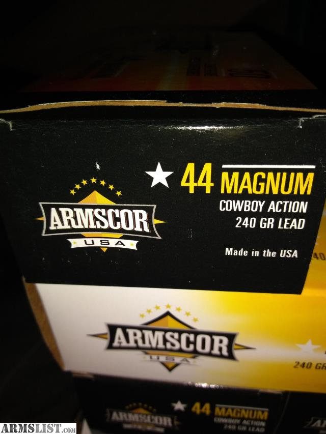 ARMSLIST - For Sale: Armscor 44 magnum LSWC
