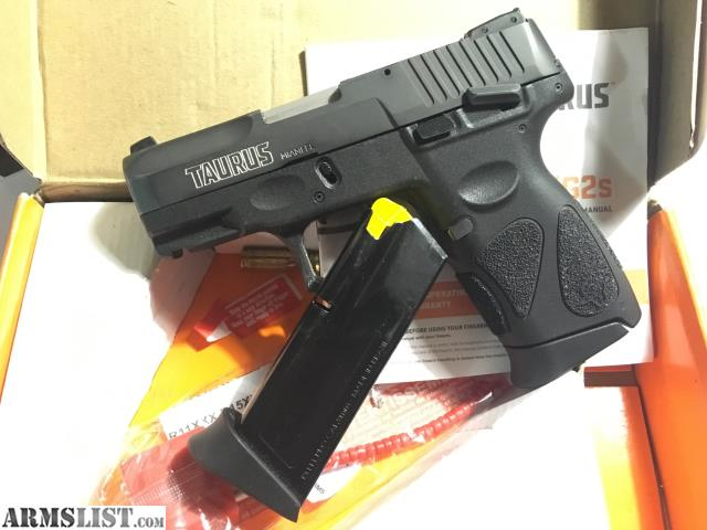 ARMSLIST - For Trade: WTT Taurus g2c 9mm