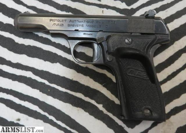 ARMSLIST - For Sale: Pre-Owned MAB Model D 32ACP Layaway!