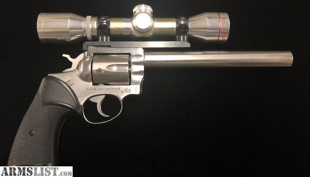 ARMSLIST - For Sale: USED Ruger Security Six  357 mag Custom