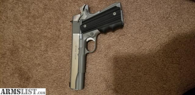 ARMSLIST - For Sale: Custom Springfield 1911 Stainless