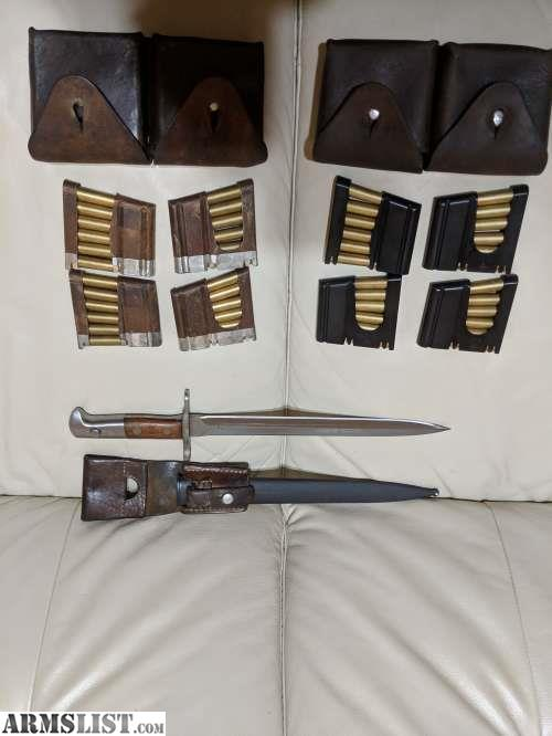 armslist for sale 1935 k31 w gp11 ammo and accessories