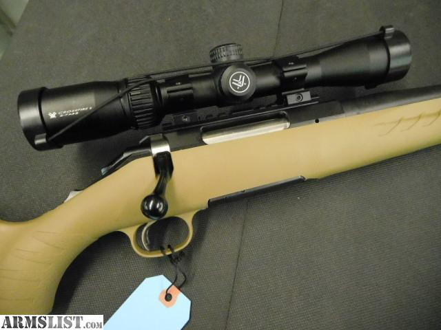 ARMSLIST - For Sale: Ruger American Ranch 5 56 W/ Vortex scope