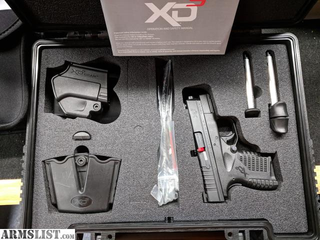 ARMSLIST - For Sale: Springfield Armory XD-S 9mm
