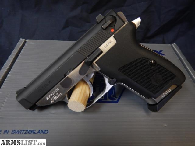 ARMSLIST - For Sale: SPHINX AT 380-M RARE AMBI (USED)